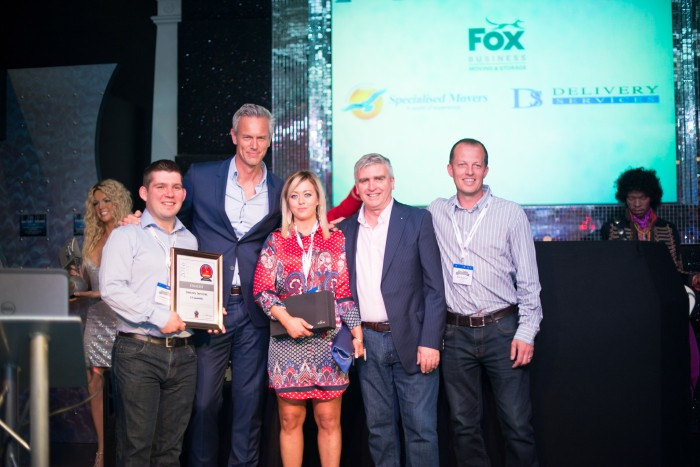 Commercial mover of the Year award 2016 Delivery services