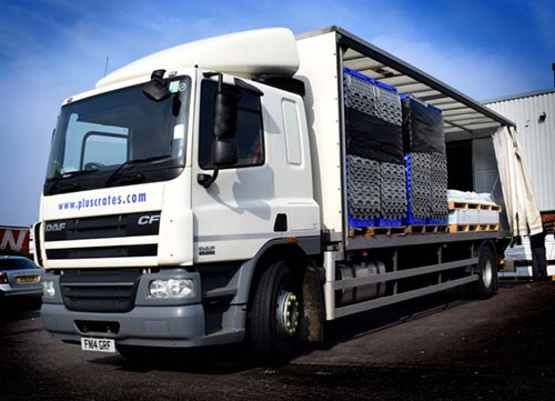 curtain sided lorry