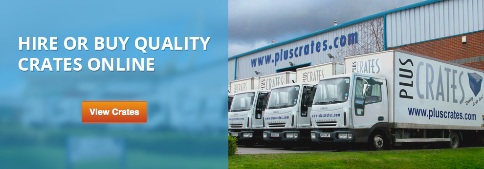 hire or buy quality crates online from pluscrates crate rental